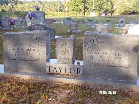 TAYLOR, SARAH OPHELIA - Union County, Louisiana | SARAH OPHELIA TAYLOR - Louisiana Gravestone Photos