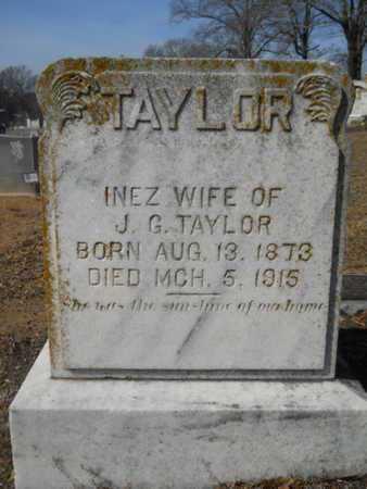 TAYLOR, INEZ - Union County, Louisiana | INEZ TAYLOR - Louisiana Gravestone Photos