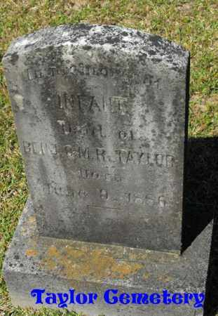 TAYLOR, INFANT DAUGHTER - Union County, Louisiana | INFANT DAUGHTER TAYLOR - Louisiana Gravestone Photos
