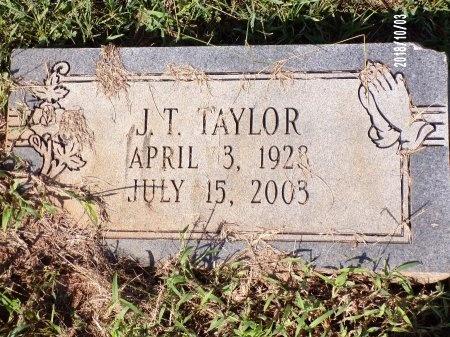TAYLOR, J T - Union County, Louisiana | J T TAYLOR - Louisiana Gravestone Photos