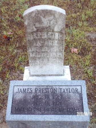 TAYLOR, JAMES PRESTON - Union County, Louisiana | JAMES PRESTON TAYLOR - Louisiana Gravestone Photos