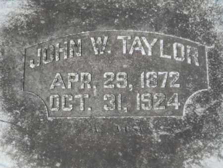 TAYLOR, JOHN W (CLOSE UP) - Union County, Louisiana | JOHN W (CLOSE UP) TAYLOR - Louisiana Gravestone Photos