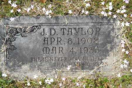 TAYLOR, J D - Union County, Louisiana | J D TAYLOR - Louisiana Gravestone Photos