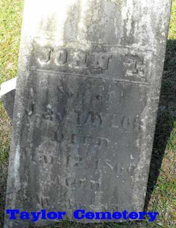 TAYLOR, JOHN T (2ND STONE) - Union County, Louisiana   JOHN T (2ND STONE) TAYLOR - Louisiana Gravestone Photos