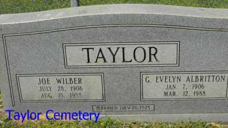 TAYLOR, JOE WILBER - Union County, Louisiana | JOE WILBER TAYLOR - Louisiana Gravestone Photos
