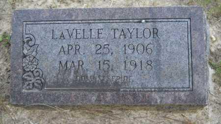 TAYLOR, LAVELLE - Union County, Louisiana | LAVELLE TAYLOR - Louisiana Gravestone Photos