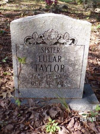 TAYLOR, LULAR - Union County, Louisiana | LULAR TAYLOR - Louisiana Gravestone Photos