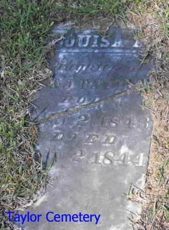 TAYLOR, LOUISA - Union County, Louisiana | LOUISA TAYLOR - Louisiana Gravestone Photos