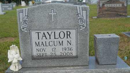 TAYLOR, MALCUM N - Union County, Louisiana | MALCUM N TAYLOR - Louisiana Gravestone Photos