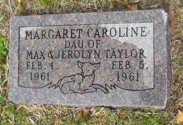 TAYLOR, MARGARET CAROLINE - Union County, Louisiana | MARGARET CAROLINE TAYLOR - Louisiana Gravestone Photos