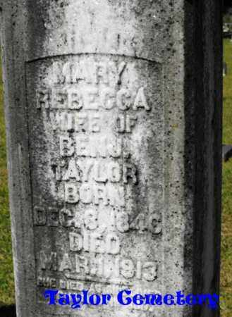 TAYLOR, MARY REBECCA - Union County, Louisiana | MARY REBECCA TAYLOR - Louisiana Gravestone Photos