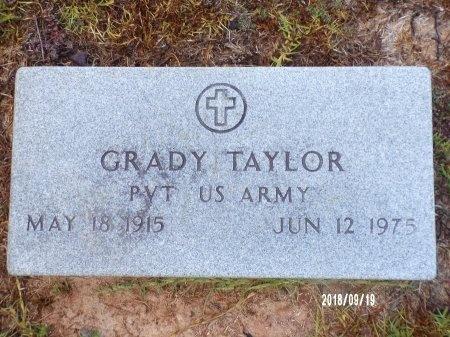 TAYLOR, GRADY (VETERAN) - Union County, Louisiana | GRADY (VETERAN) TAYLOR - Louisiana Gravestone Photos