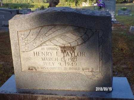 TAYLOR, HENRY E (VETERAN WWII) - Union County, Louisiana | HENRY E (VETERAN WWII) TAYLOR - Louisiana Gravestone Photos