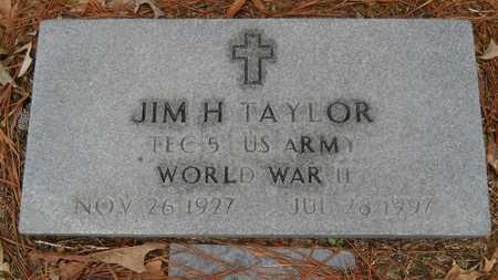 TAYLOR, JIM HENRY (VETERAN WWII) - Union County, Louisiana | JIM HENRY (VETERAN WWII) TAYLOR - Louisiana Gravestone Photos
