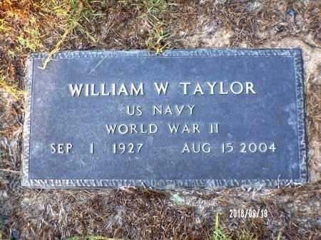 TAYLOR, WILLIAM WESLEY (VETERAN WWII) - Union County, Louisiana | WILLIAM WESLEY (VETERAN WWII) TAYLOR - Louisiana Gravestone Photos
