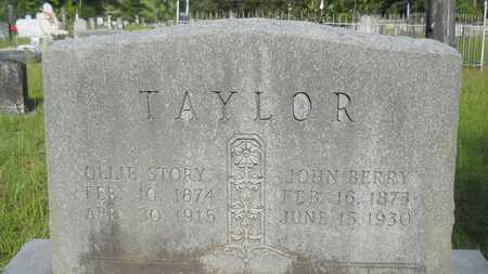 TAYLOR, OLLIE - Union County, Louisiana | OLLIE TAYLOR - Louisiana Gravestone Photos
