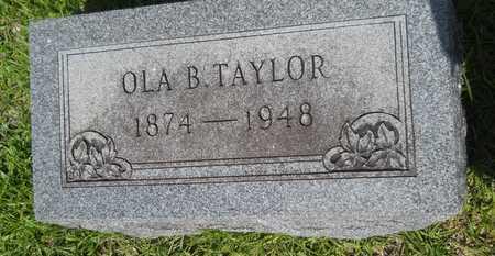 TAYLOR, OLA - Union County, Louisiana | OLA TAYLOR - Louisiana Gravestone Photos