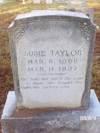 TAYLOR, SUSIE - Union County, Louisiana   SUSIE TAYLOR - Louisiana Gravestone Photos