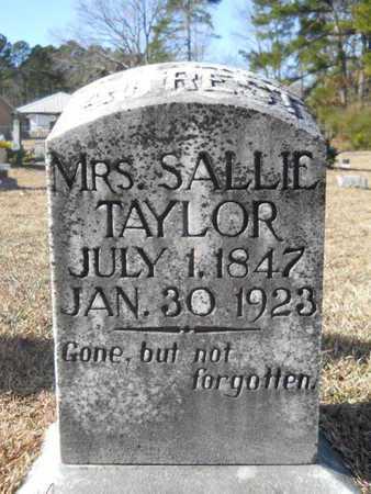 TAYLOR, SALLIE - Union County, Louisiana | SALLIE TAYLOR - Louisiana Gravestone Photos