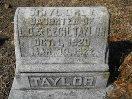 TAYLOR, SIBYL GREY - Union County, Louisiana | SIBYL GREY TAYLOR - Louisiana Gravestone Photos