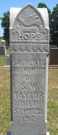 TAYLOR, SAMUEL WOOD - Union County, Louisiana | SAMUEL WOOD TAYLOR - Louisiana Gravestone Photos