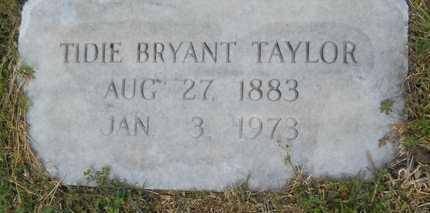 TAYLOR, TIDIE - Union County, Louisiana | TIDIE TAYLOR - Louisiana Gravestone Photos