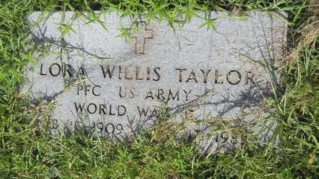 TAYLOR, LORA WILLIS  (VETERAN WWII) - Union County, Louisiana | LORA WILLIS  (VETERAN WWII) TAYLOR - Louisiana Gravestone Photos