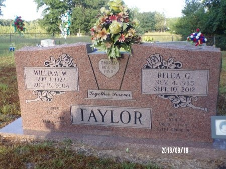 TAYLOR, WILLIAM WESLEY - Union County, Louisiana | WILLIAM WESLEY TAYLOR - Louisiana Gravestone Photos