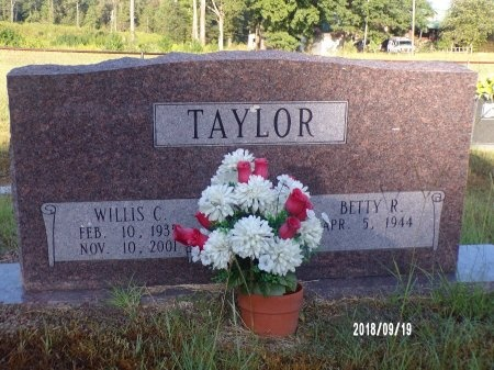 TAYLOR, WILLIS CLAUDE - Union County, Louisiana | WILLIS CLAUDE TAYLOR - Louisiana Gravestone Photos
