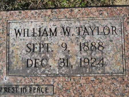 TAYLOR, WILLIAM W (CLOSE UP) - Union County, Louisiana | WILLIAM W (CLOSE UP) TAYLOR - Louisiana Gravestone Photos