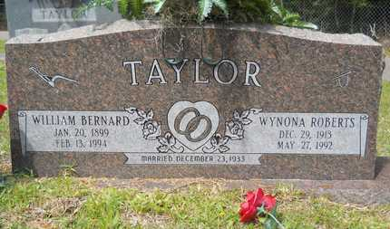 TAYLOR, WILLIAM BERNARD - Union County, Louisiana   WILLIAM BERNARD TAYLOR - Louisiana Gravestone Photos