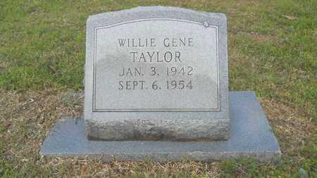 TAYLOR, WILLIE GENE - Union County, Louisiana | WILLIE GENE TAYLOR - Louisiana Gravestone Photos