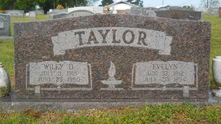 TAYLOR, WILEY D - Union County, Louisiana | WILEY D TAYLOR - Louisiana Gravestone Photos