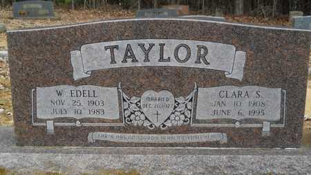TAYLOR, W EDELL - Union County, Louisiana   W EDELL TAYLOR - Louisiana Gravestone Photos
