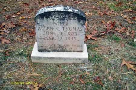THOMAS, ALLEN C - Union County, Louisiana | ALLEN C THOMAS - Louisiana Gravestone Photos