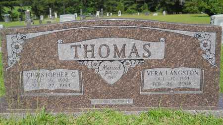 THOMAS, VERA - Union County, Louisiana | VERA THOMAS - Louisiana Gravestone Photos
