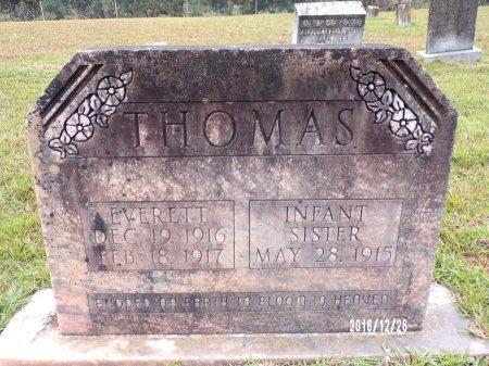 THOMAS, INFANT DAUGHTER - Union County, Louisiana | INFANT DAUGHTER THOMAS - Louisiana Gravestone Photos