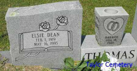 THOMAS, ELSIE - Union County, Louisiana   ELSIE THOMAS - Louisiana Gravestone Photos