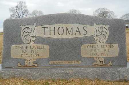 THOMAS, LORENE - Union County, Louisiana | LORENE THOMAS - Louisiana Gravestone Photos