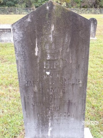 THOMAS, H P - Union County, Louisiana   H P THOMAS - Louisiana Gravestone Photos