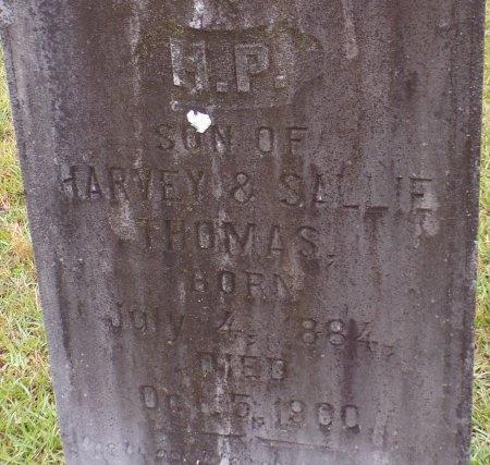 THOMAS, H P (CLOSE UP) - Union County, Louisiana   H P (CLOSE UP) THOMAS - Louisiana Gravestone Photos