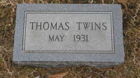 THOMAS, INFANT TWIN - Union County, Louisiana   INFANT TWIN THOMAS - Louisiana Gravestone Photos
