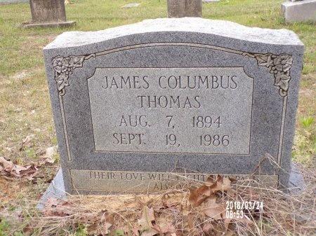 THOMAS, JAMES COLUMBUS - Union County, Louisiana   JAMES COLUMBUS THOMAS - Louisiana Gravestone Photos