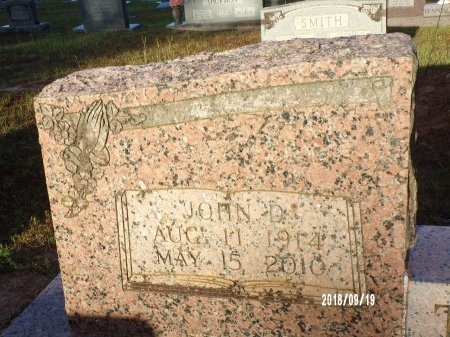 THOMAS, JOHN D (CLOSE UP) - Union County, Louisiana   JOHN D (CLOSE UP) THOMAS - Louisiana Gravestone Photos