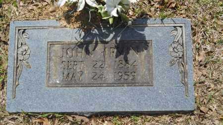 THOMAS, JOHN IRVIN - Union County, Louisiana   JOHN IRVIN THOMAS - Louisiana Gravestone Photos
