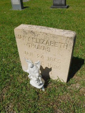 THOMAS, MARY ELIZABETH - Union County, Louisiana | MARY ELIZABETH THOMAS - Louisiana Gravestone Photos