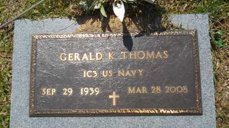 THOMAS, GERALD K (VETERAN) - Union County, Louisiana   GERALD K (VETERAN) THOMAS - Louisiana Gravestone Photos