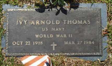THOMAS, IVY ARNOLD (VETERAN WWII) - Union County, Louisiana | IVY ARNOLD (VETERAN WWII) THOMAS - Louisiana Gravestone Photos
