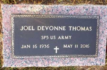 THOMAS, JOEL DEVONNE (VETERAN) - Union County, Louisiana   JOEL DEVONNE (VETERAN) THOMAS - Louisiana Gravestone Photos