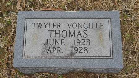 THOMAS, TWYLER VONCILLE - Union County, Louisiana   TWYLER VONCILLE THOMAS - Louisiana Gravestone Photos